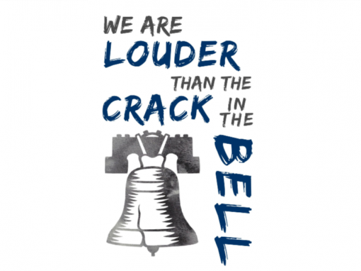 WE ARE LOUDER THAN THE CRACK IN THE BELL